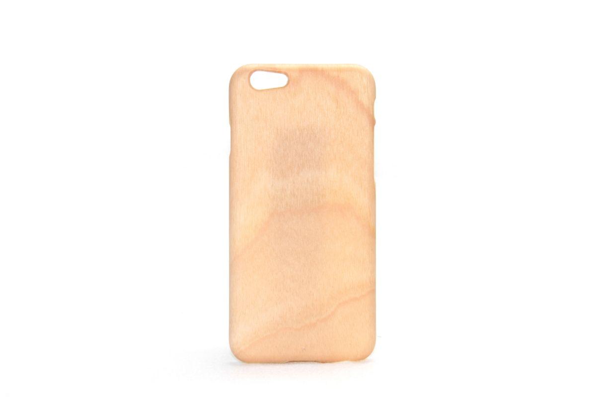iPhone6sジャケット バーチ(白樺)(柾目)F
