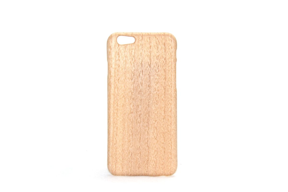 iPhone6sジャケット きり(桐)(柾目)F