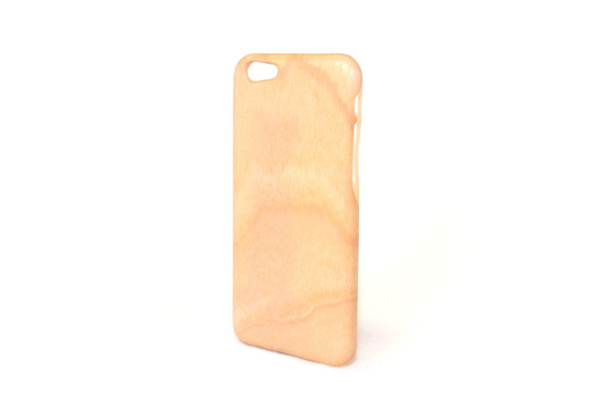 iPhone6sジャケット バーチ(白樺)(柾目)O