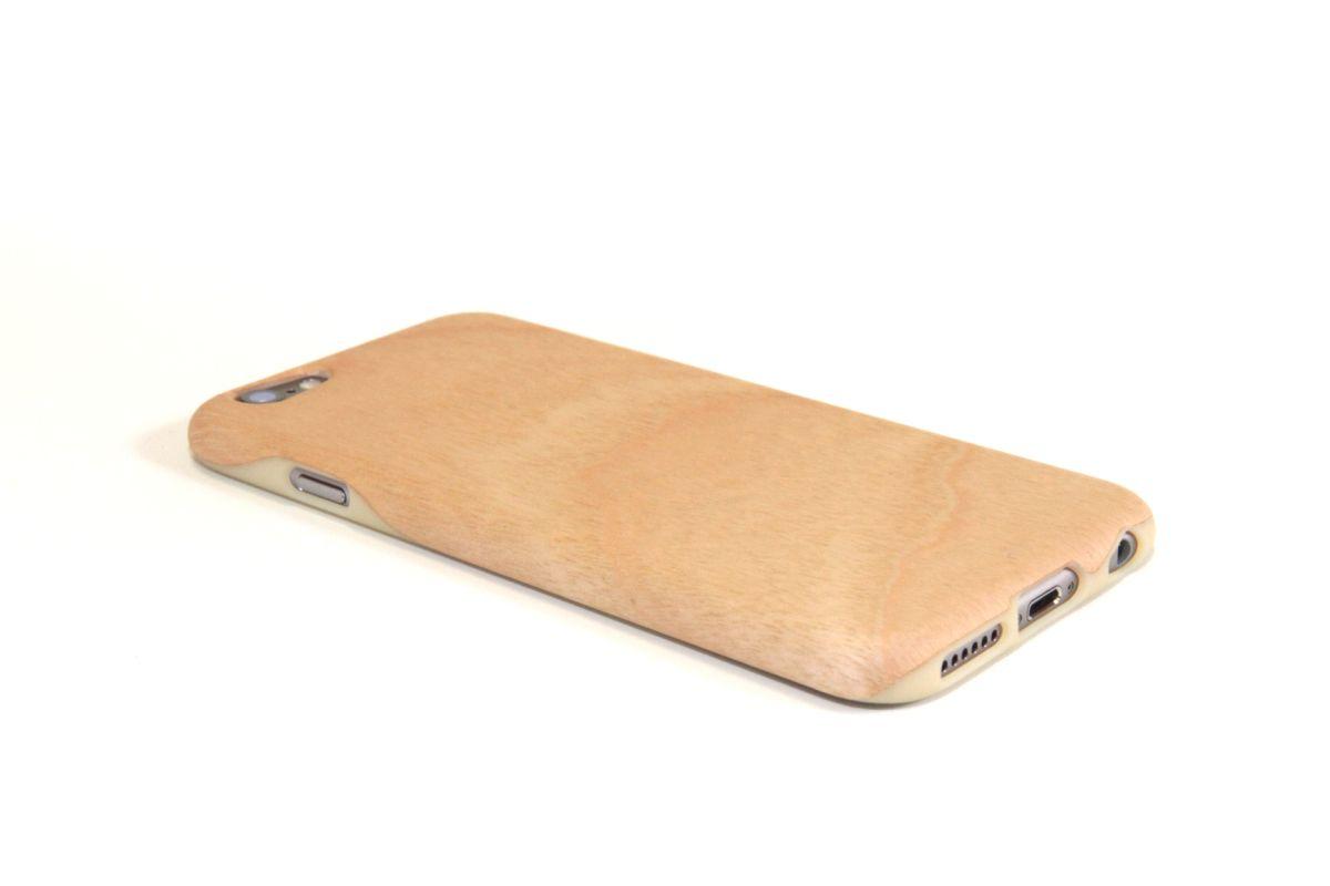 iPhone6sジャケット バーチ(白樺)(柾目)S