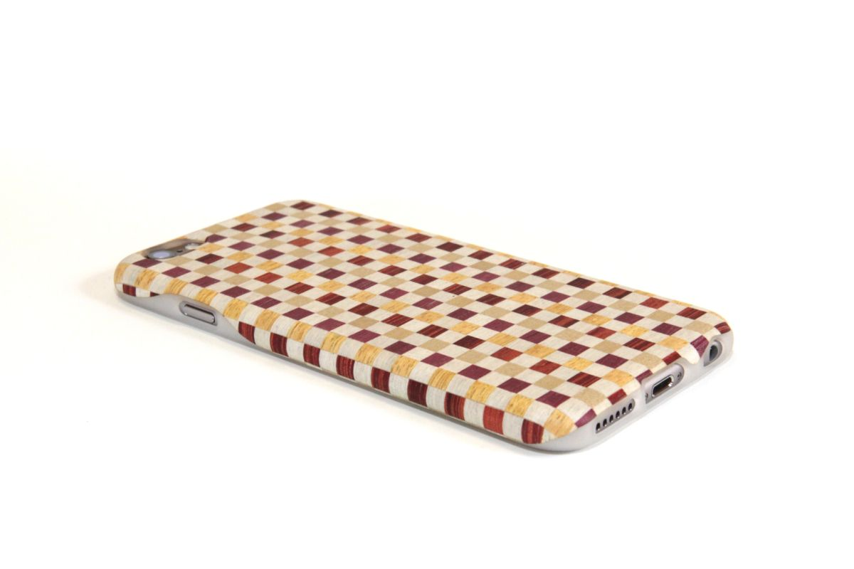 iPhone6sジャケット 箱根寄木細工4(参考製品)S