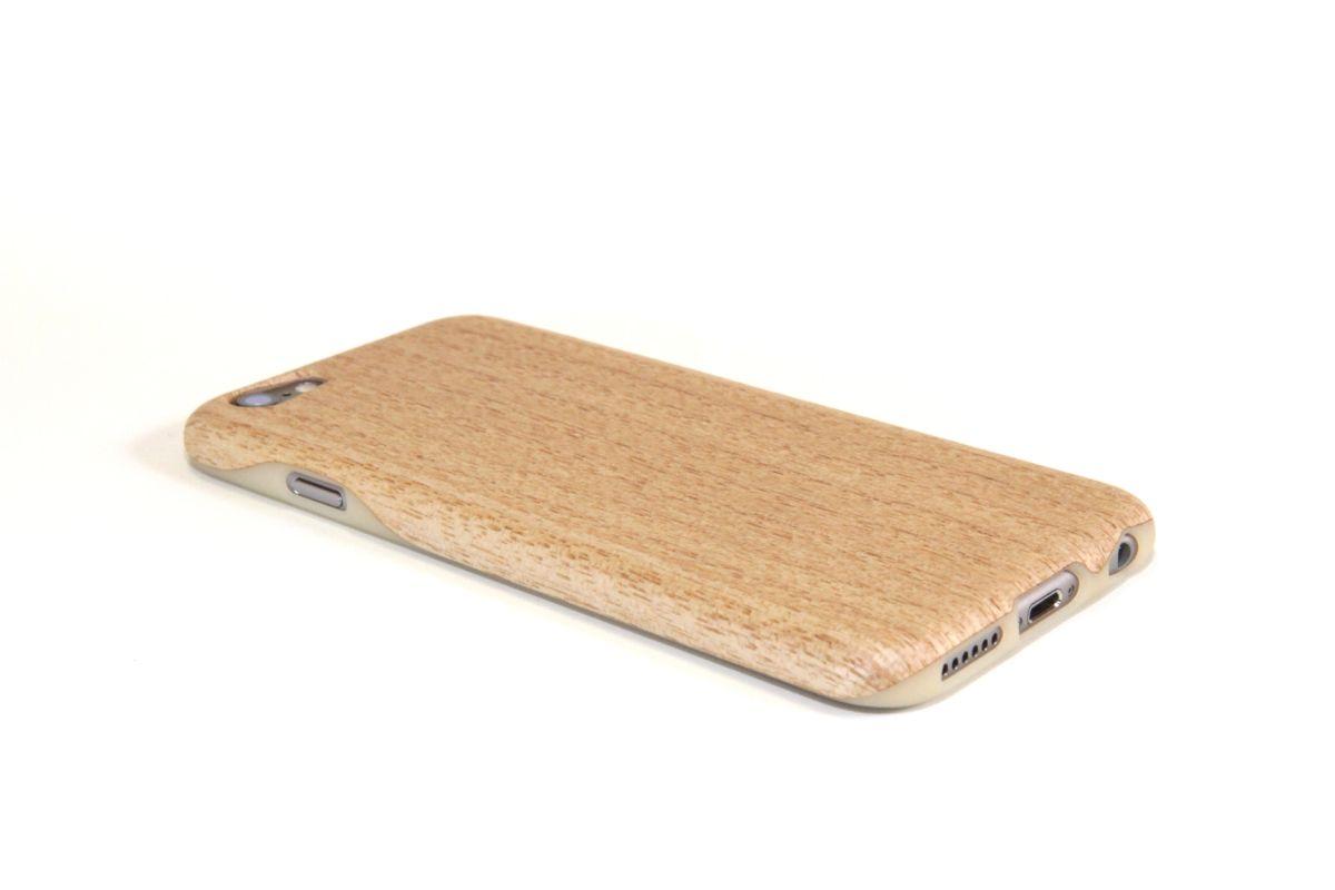 iPhone6sジャケット きり(桐)(柾目)S