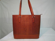 sample using Ki-Ori Tennâge:Handbag (Padauk)