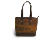 Ki-Ori Tennâge Product Sample:Tote Bag #3 (Rosewood)
