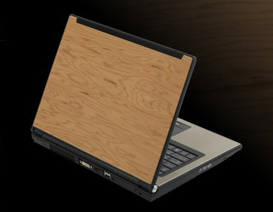 Real Wood Notebook