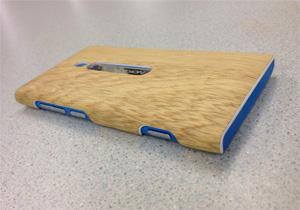 IMW工法製品例:NOKIAスマートフォンカバー