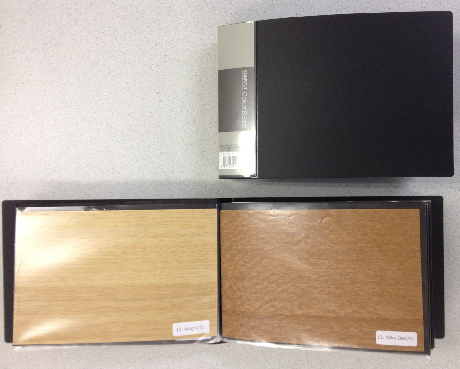 Sample Book Of Tenn 226 Ge 174 Wood Sheet Zeroone Products